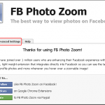 Facebookの写真を拡大表示するChrome拡張機能 「FB Photo Zoom for Chrome」
