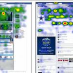 Facebookタイムラインのアイ・トラッキング分析: ユーザーの視線はどこに集まるのか?
