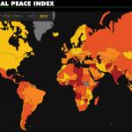 平和な国ランキング2012年、トップ10とワースト10: 日本は5位