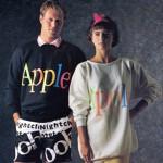 【画像】アップルの知られざる過去、80年代に手がけた洋服ブランド「The Apple Correction」