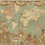 世の中がひと目で分かるユニークな世界地図7つ