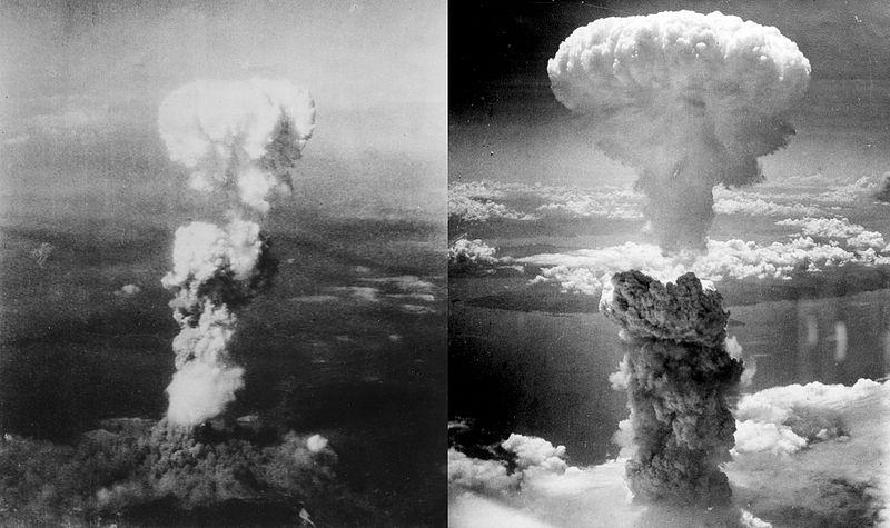 広島、長崎に原子爆弾投下