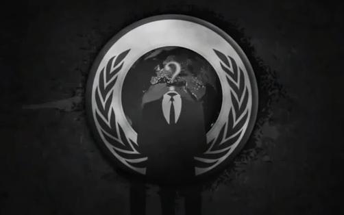 アノニマスのロゴを商標申請