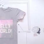 世界初!ネットに繋がるスマートTシャツ「T-Shirt OS」、これはぜひとも欲しい!?