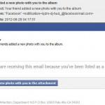 Facebookのタグ付け通知メールに注意!マルウェアスパムの可能性あり