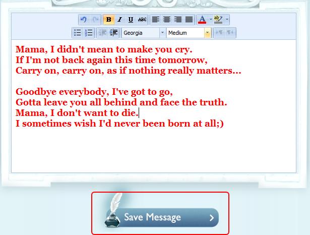 遺言アプリ「if i die 1st」の使い方3