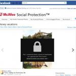 Facebook写真を完全に保護するプラグイン「Social Protection」、McAfeeが開発