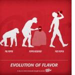 ドクターペッパーの広告をめぐりネットで議論が沸騰、「進化論」vs「アダムとイブ」