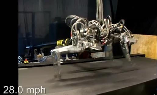 ウサイン・ボルトよりも速いチーター型ロボット「The Cheetah」