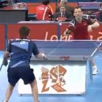 【動画】パラリンピック、男子卓球選手のミラクルショットがYouTubeで話題!