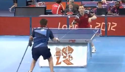 パラリンピック 卓球 スーパーショット