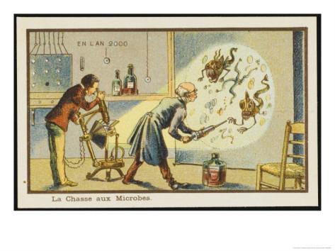 19世紀の人が思う100年後の世界 細菌駆除