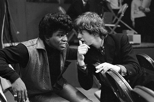 ジェームス・ブラウンとミック・ジャガー 1964年