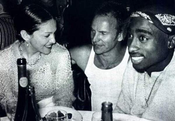 マドンナ、スティング、2Pac