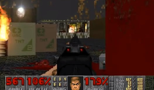 FPSゲームの代表的タイトル『DOOM』