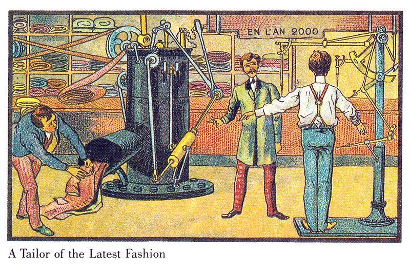 19世紀の人が思う100年後の世界 テイラー