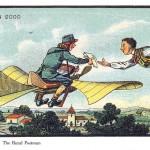 【画像】100年前の人類が思い描いた21世紀の姿、「100年後はみんな空を飛んでいるはず」