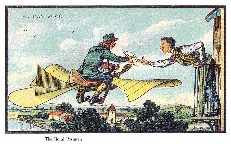19世紀の人が思う100年後の世界