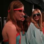 グーグルメガネ「Project Glass」がNYコレクションのランウェイに登場