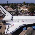 【動画】スペースシャトル「エンデバー」がLAの街を大移動するタイムラプス動画