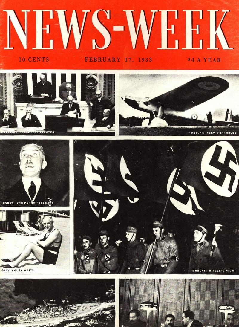 1933年のニューズウィーク第一号