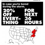アメリカンアパレルがTwitterで炎上、「ハリケーンセール」の広告に非難の声が続出