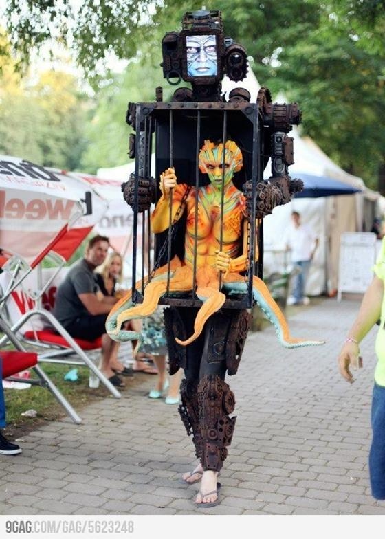ハロウィンコスチューム SFロボット