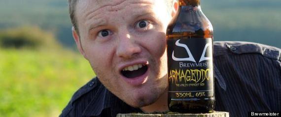 アルコール度数65%の世界一強いビール「アルマゲドン(Armageddon)」