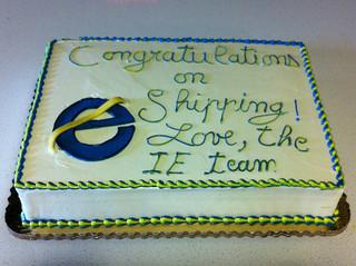 マイクロソフトからMozillaに毎回届く伝統のケーキ