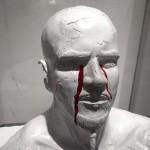 【画像】血を絵具にしてアートを表現、ダークなアーティストの作品がすごい!