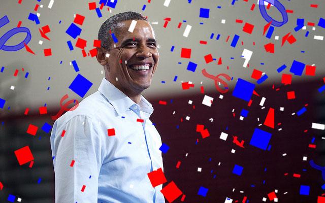 オバマ大統領 過去最高のリツイート数
