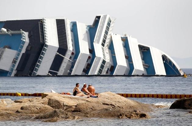 コスタ・コンコルディアの座礁事故
