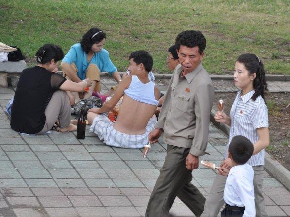 天国のような北朝鮮の生活