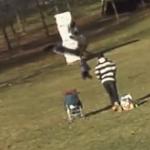 【動画】イヌワシが飛んできて人間の赤ちゃんを連れ去ろうとするミラクルな映像