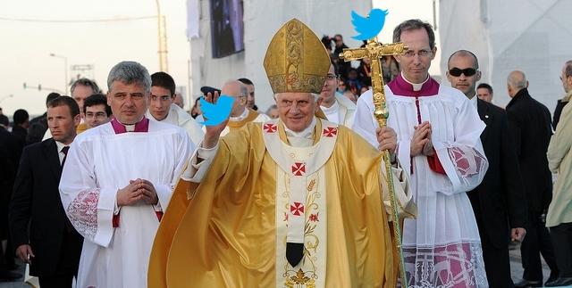 ローマ法王がツイッターを開始