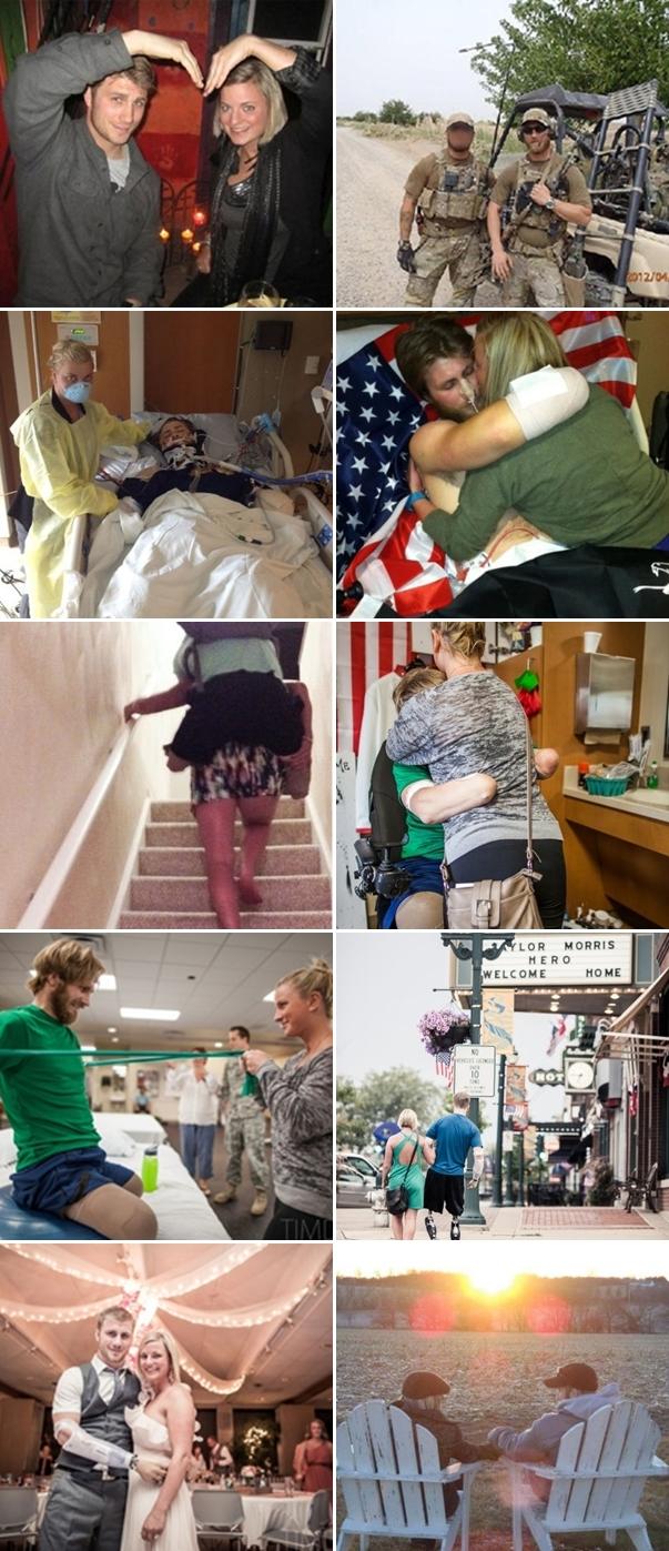 アフガニスタンで手足を失った兵士と彼女のラブストーリー