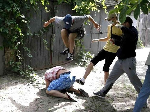ウクライナのアンチ・ゲイヘイトクライム