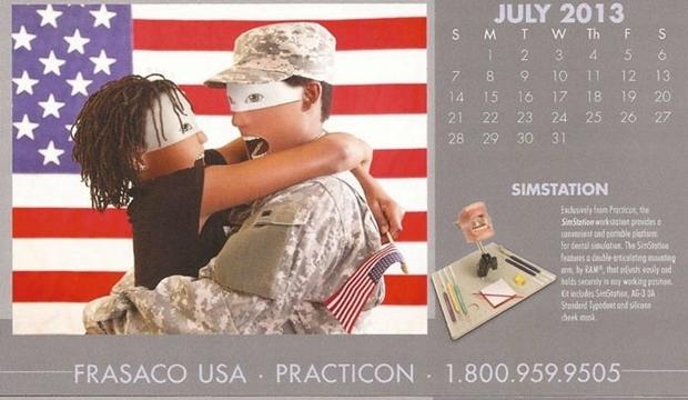 不気味な企業カレンダー 7月