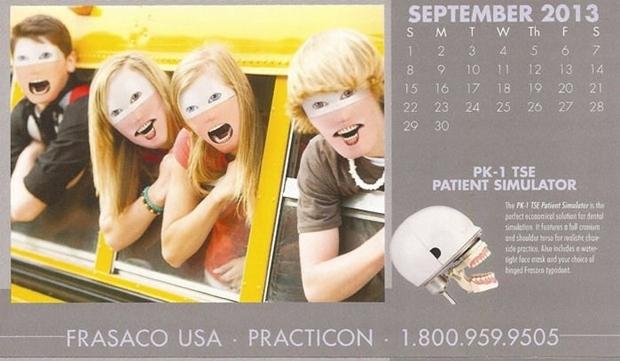 不気味な企業カレンダー 9月
