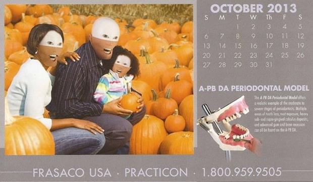 不気味な企業カレンダー 10月