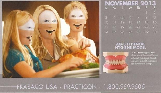 不気味な企業カレンダー 11月
