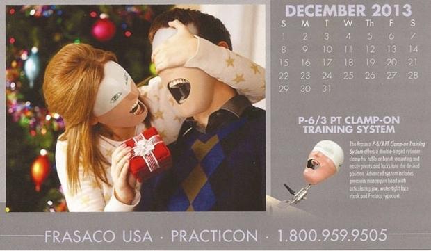 不気味な企業カレンダー 12月