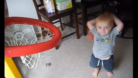 バスケ赤ちゃん