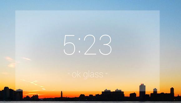 Google Glassトップ