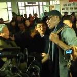 元NBAスーパースターのデニス・ロッドマン、平和の使者として北朝鮮を訪問