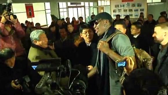 デニス・ロッドマン 北朝鮮訪問