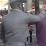 【爽快動画】調子に乗りすぎたDQNがストリートパフォーマーに顔面をぶん殴られる – 豪州
