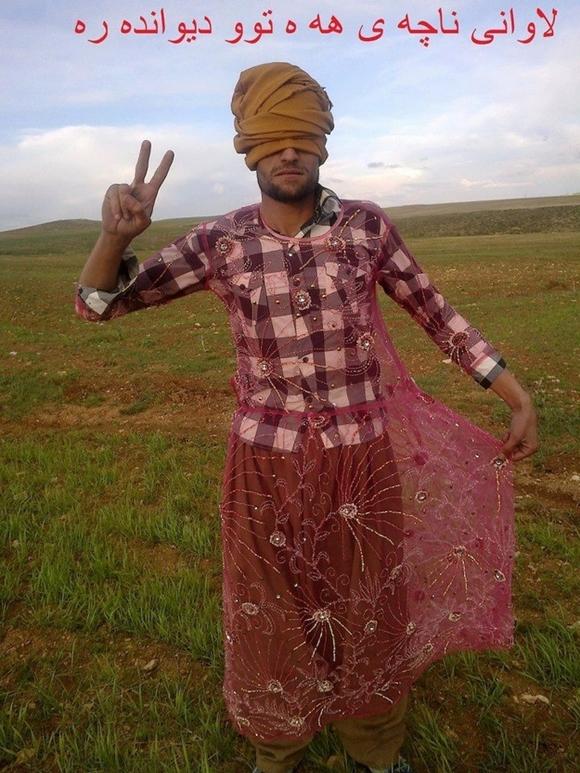 クルド人 女装キャンペーン2