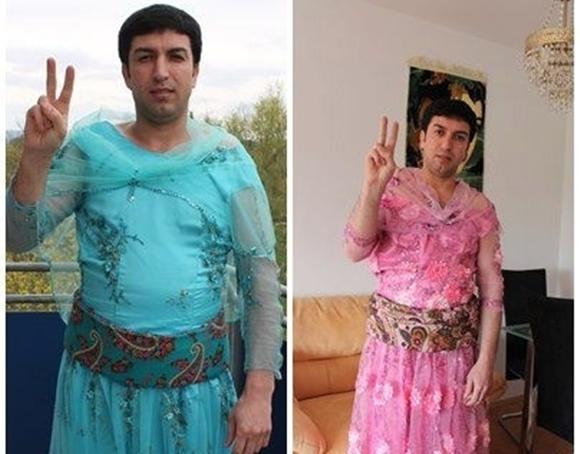 クルド人 女装キャンペーン7