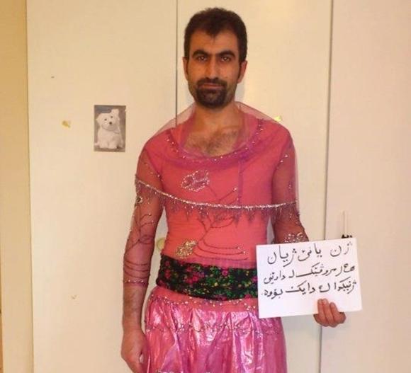 クルド人 女装キャンペーン5